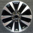 Nissan Altima Compatible Replica Machined w/ Charcoal Pockets 17 inch Wheel 2016