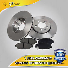UL 304.8mm Front Brake Rotor & Pads For Chevy GMC SUV Pickup Truck