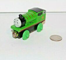 Thomas & Friends Wooden Train Tank Engine - Talking Railway RFID Percy Gold Mags