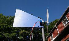 Small Wind Turbine 12 Volt Generator Kit Blue Edition