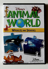 Disney's Animal World Whales and Sharks Disney Nature Children's Educational DVD