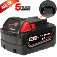 For Milwaukee M18 18-Volt Li-Ion XC Extended Capacity Battery Pack 48-11-1850 US