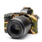 easyCover Armor Protective Silicone Skin for Nikon Z50 (Camouflage)