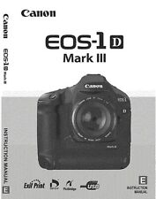 Canon EOS 1D Mark III 212 Page OWNER 'S INSTRUCTION MANUAL