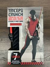 NEW TKO Triceps Crunch Portable Pull Down Home Exercise RESISTANCE BAND 7 Levels