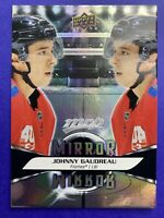 2020-21 Upper Deck MVP Mirror Mirror #MM-10 Johnny Gaudreau Calgary Flames 🔥
