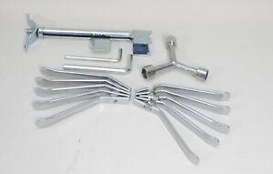 Fahrrad Reparatur Set 14 Teilig - Metall Reifenheber, Inbusschlüssel, Spreizer