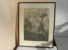 WELDEN Leo von - ORIGINAL - 1899-1967 - Kreuzigung - Radierung
