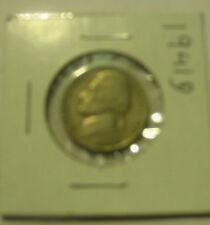 JEFFERSON NICKEL 1941 D FIVE CENT COIN