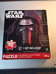 NEW! Disney Star Wars 7 The Force Awakens 100-Piece Jigsaw Puzzle PP7