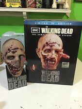 Rare WALKING DEAD Season 2 BLU-RAY Limited Edition ZOMBIE HEAD OOP Excellent!