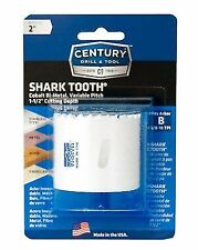 "CENTURY Drill 2"" Bi-metal Shark Tooth Hole Saw 05232"