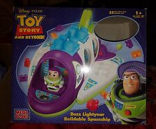 2005 Disney Toy Story Buzz Lightyear Beyond Mega Bloks Buildable Spaceship RARE
