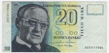 More details for 1993 finland 20 markkaa bank note | pennies2pounds