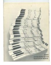 Piano service manuals