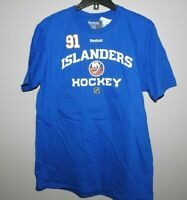 NHL Reebok New York Islanders #91 Hockey Shirt New Mens Sizes NWT