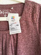 Neu Langarmshirt Shirt Umstandskleidung Gr.40 Gina Mama