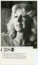 MICHAEL LEARNED PRETTY A CHRISTMAS WITHOUT SNOW ORIGINAL 1980 CBS TV PHOTO