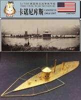 PE kit 1/700 American Civil War Monitor warship USS Canonicus (1864/1907)