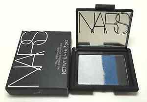Nars Trio Eye Shadow Okinawa 0.17oz Simmer Gray Blue Black Limited Edition NIB