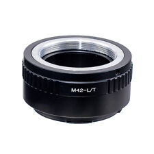 M42 Screw Mount Lens to Leica T L/T LT Adapter Type 701 601 Mirrorless Camera