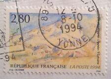France stamps - Sainte-Victoire Mountain ( Cézanne )    1994 2,80f - FREE P&P