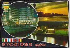 RICCIONE NOTTE - VEDUTINE (RIMINI) 1976