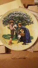 Easter collectors plate