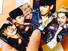 BIGBANG (BIG BANG) PHOTO CARD  ((001)) - VERSION <A>,<B> -allof10- gd TAEYANG