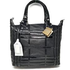 American Glamour Badgley Mischka Handbag Boulevardier Caged Tote NWT Black