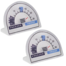 PACK OF TWO CRESCENT DIAL FRIDGE FREEZER THERMOMETERS - IN-197