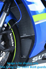 GSXR1000 L7 2017 R&G Racing BLUE Radiator & Oil Cooler Guard Set RAD9019BLUE