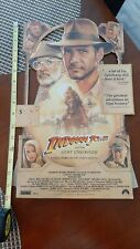 Indiana Jones and The Last Crusade, Movie Standee Promotional, Authentic, 1989