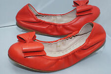New Miu Miu Orange Women's Shoes Ballet Flats Size 38.5 Calzature Donna