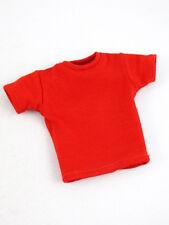Hot Toys CMS02 City Hunter RYO SAEBA Figure 1/6 RED SHORT-SLEEVE T-SHIRT