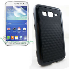 Pellicola+Custodia BEEHIVE cover nera per Samsung Galaxy Core Advance i8580