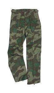 US Ranger BDU Trousers Splinter Camo - Army Military Cargo Combat Pants New