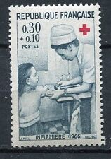 STAMP / TIMBRE FRANCE NEUF LUXE ** N° 1509 ** CROIX ROUGE INFIRMIERE
