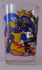 Verre à moutarde glass POWER RANGERS 1994. Black Ranger Zak. VM467