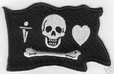 PAINTBALL BONNET PIRATE PATCH Sticker spyder dye