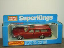 Volvo Estate - Matchbox Super Kings K-74 in Box *39803