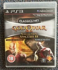 PS3 pal uk game GOD OF WAR COLLECTION CLASSICS HD CHAINS OLYMPUS + GHOST SPARTA