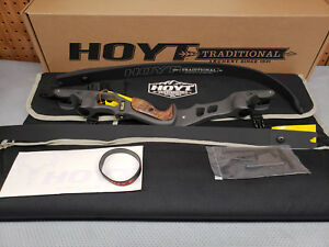 "Hoyt Satori Recurve 19"" Storm (New Color)Riser LH 45# Medium Black Out Limbs 62"""
