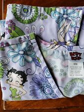 Betty Boop Medical Scrub Uniform Top Size M