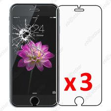"""Lot 3 Film protection écran VERRE Trempé Vitre anti casse Apple iPhone 6 4,7"""""""