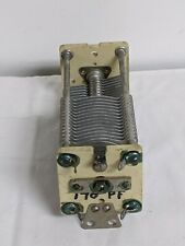 Ge Air Variable Dual-section Capacitor 170 pF Sc3767A 7763513-2 Ham Radio