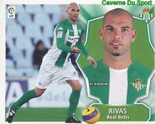 ALBERTO RIVERA ESPANA REAL BETIS STICKER LIGA ESTE 2009 PANINI