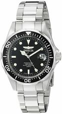 Invicta Men's 'Pro Diver' Quartz Stainless Steel Diving Watch ColorSilver-Ton...