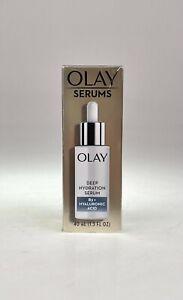 Olay Serums DEEP HYDRATION SERUM B3+ HYALURONIC ACID 40 mL NEW IN BOX | 8984