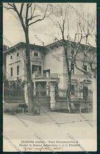 Firenze Città Viale Michelangiolo cartolina QQ1962